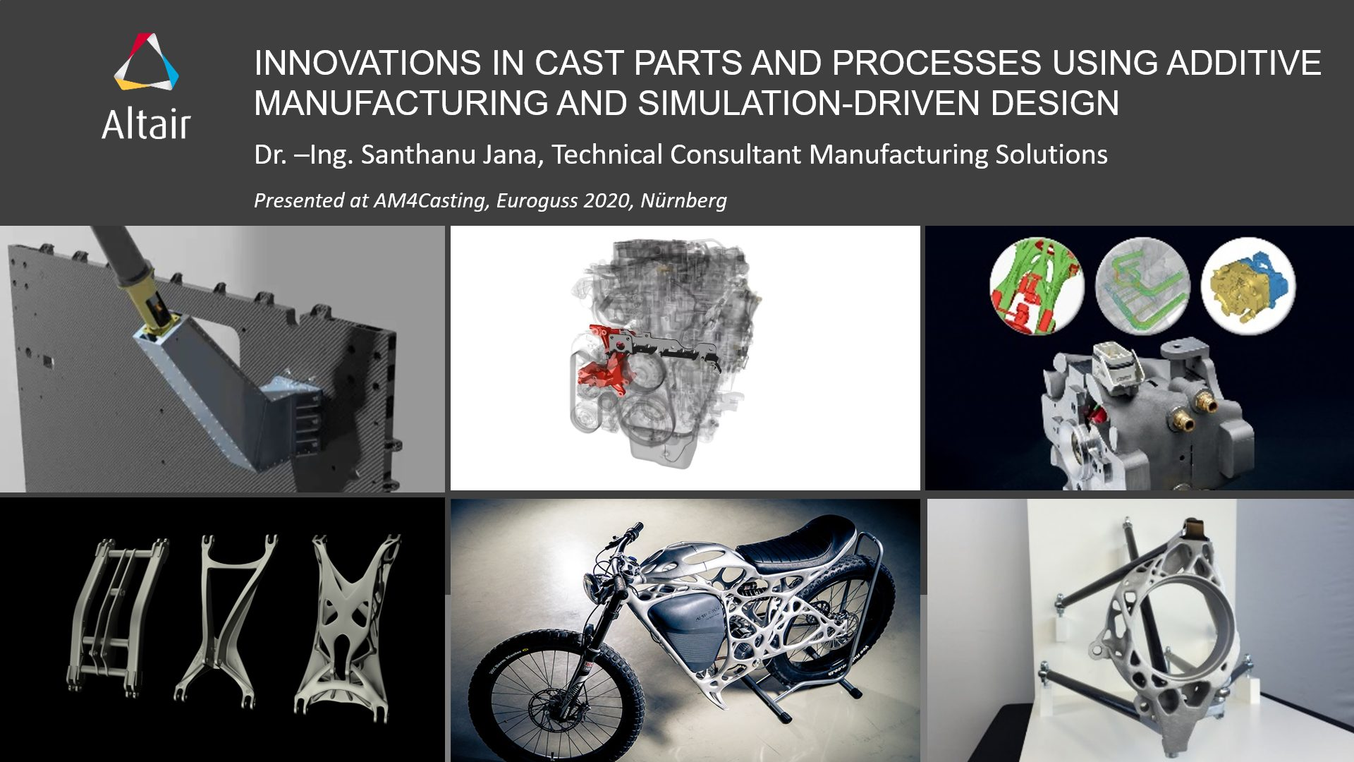 Innovations in inspire Cast Parts and Processes